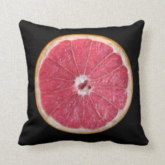 Juicy Red Grapefruit Throw Cushion