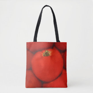 Juicy Red Homegrown Garden Tomatoes Tote Bag