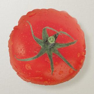 Juicy Tomato Round Cushion