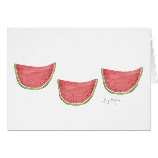 Juicy Watermelon Cards