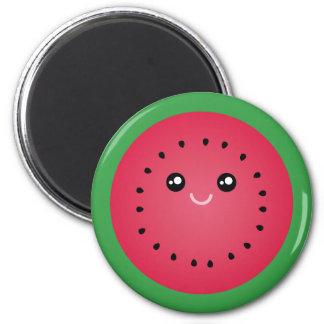 Juicy Watermelon Slice Cute Kawaii Kitchen Magnet
