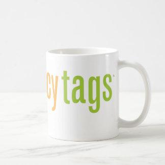 JuicyTags Merchandize Basic White Mug