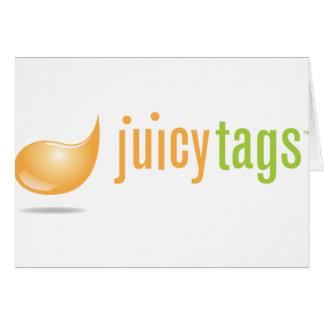 JuicyTags Merchandize Card