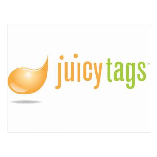 JuicyTags Merchandize Postcard