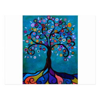 JUJU'S TREE POSTCARD
