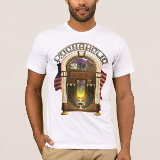 Jukebox Funny Rockaholic T Shirt