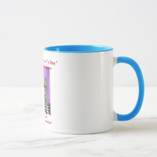 "jukebox mug, ""Rock And Roll Is Here To Stay.""-D... Mug"