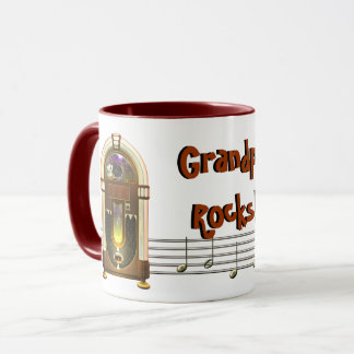 Jukebox Personalized Mugs