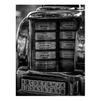 Jukebox Postcard