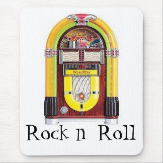 jukebox, Rock n  Roll Mouse Pad