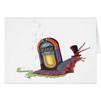 Jukebox Snail Card