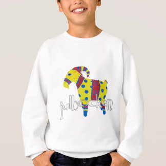 julbocken the Scandinavian Yule Goat Sweatshirt