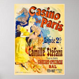 Jules Cheret Casino de Paris Theater Advertisment Poster