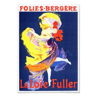 Jules Cheret Folies Bergere Print Photograph
