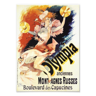Jules Cheret Olympia Print Photo Print