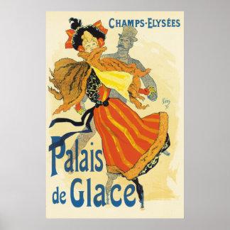 Jules Cheret - Palais de Glace Poster