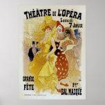 Jules Cheret ~ Theatre de L'Opera Posters