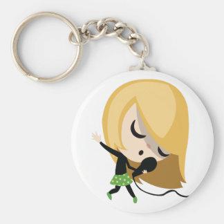 Jules the Singer Key Ring