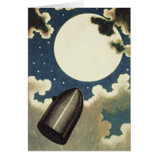 Jules Verne From the Earth to the Moon (1865) Card