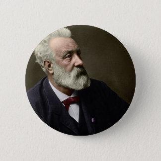 Jules Verne in 1892 6 Cm Round Badge