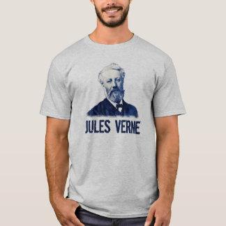 Jules Verne In Blue Shirt