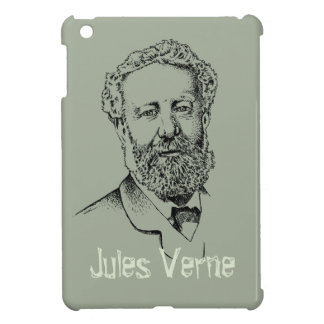 Jules Verne, the steampunk writer Case For The iPad Mini