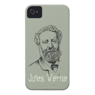 Jules Verne the steampunk writer iPhone 4 Case