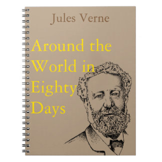 Jules Verne the steampunk writer Notebook