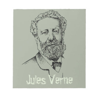 Jules Verne the steampunk writer Notepads