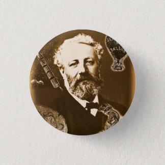 Jules Verne tributes 3 Cm Round Badge