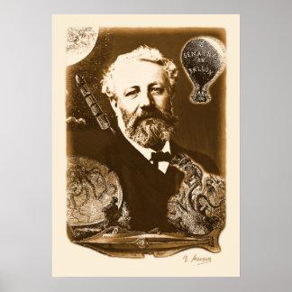 Jules Verne tributes Poster
