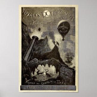 Jules Verne's Voyages Extraordinaires (1861) Poster