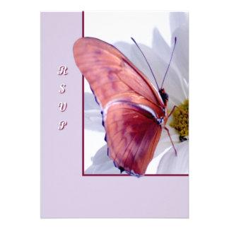 Julia Butterfly Custom Invitations