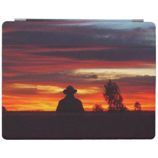 Julia Creek outback sunset IPad cover