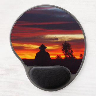 Julia Creek outback sunset mousepad