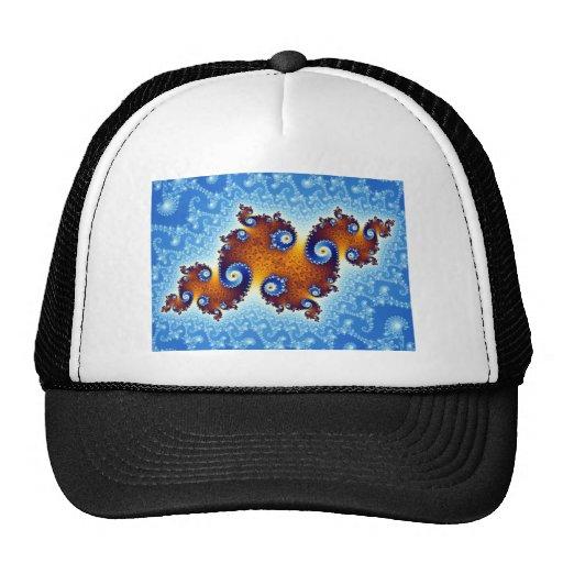 Julia Island Mandelbrot Set Mesh Hats