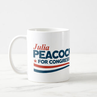 Julia Peacock Coffee Mug