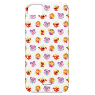 Julia & Sesame Street Friends Pattern Barely There iPhone 5 Case