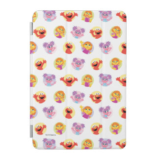 Julia & Sesame Street Friends Pattern iPad Mini Cover