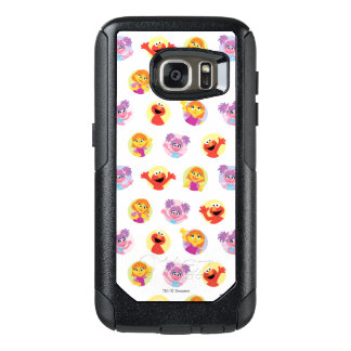 Julia & Sesame Street Friends Pattern OtterBox Samsung Galaxy S7 Case