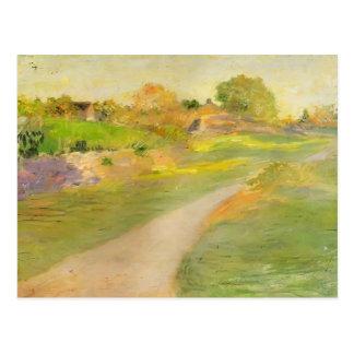 Julian Alden Weir- The Road to No Where Postcard