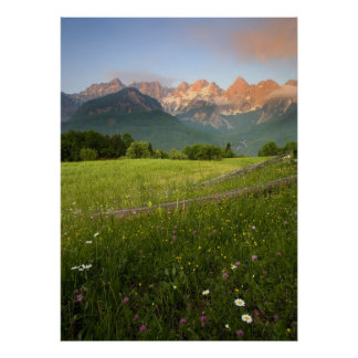 Julian Alps View Poster
