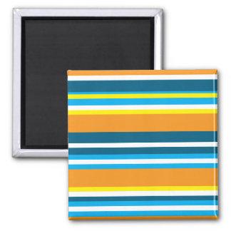 Julian Stripes Square Magnet