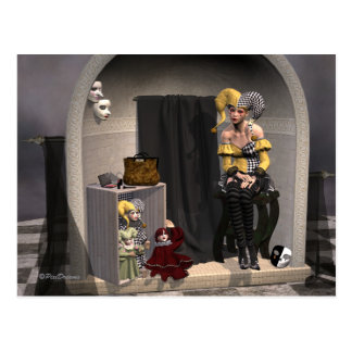 """Julia's Puppet Theatre"" - Postcard"