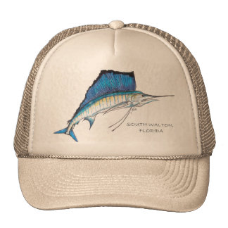 Julia's Sailfish South Walton, Florida Cap