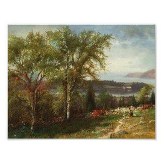 Julie Beers-Hudson River at Croton Point Photo Print