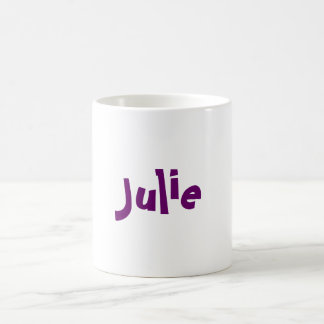 Julie Coffee Mug