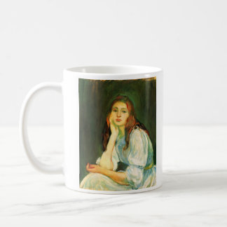Julie dreaming by Berthe Morisot Coffee Mug