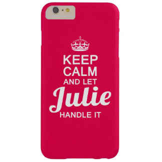 Julie handle it! barely there iPhone 6 plus case