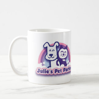 Julie's Pet Parlor Coffee Mug